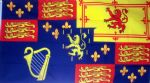 ROYAL BANNER 1689-1702 WILLIAM III - 5 X 3 FLAG